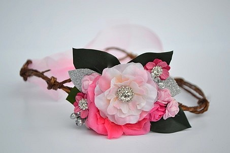 Berry Darling Flower Garland Crown