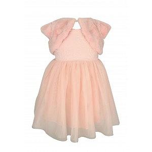 Pink Baby Shrug Dress