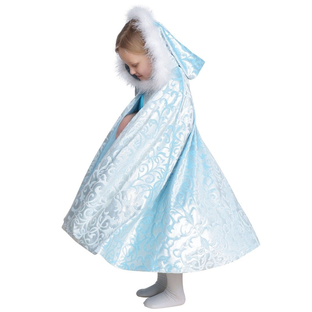 Frozen Princess Cape With or Without Boa Trimmed Hood