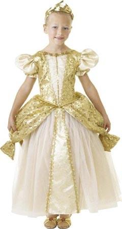 Gold Queen Gown
