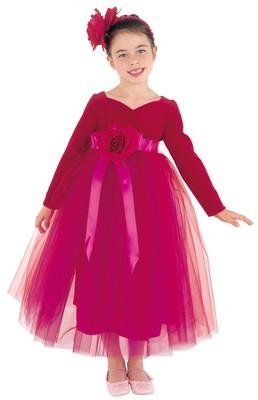 Crimson Princess Gown