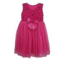 Bright Pink Sparkle Dress