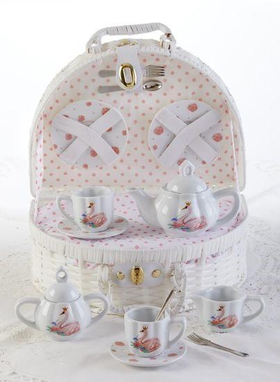 Swan Tea Set