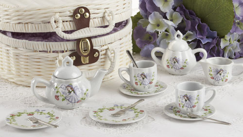 Purple Fairy Tea Set